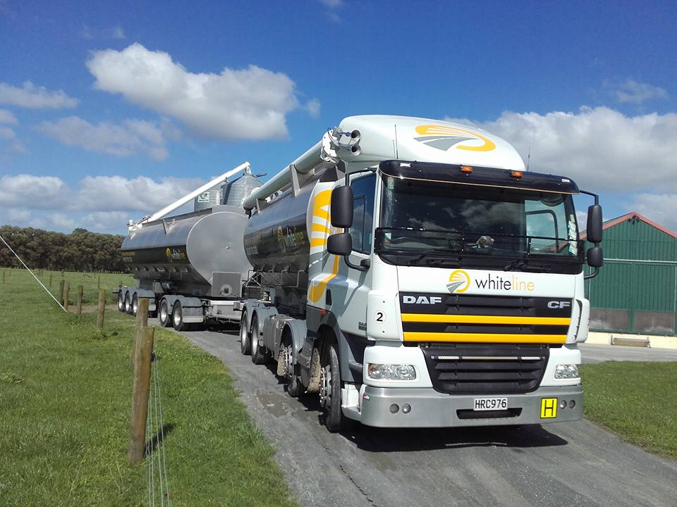 whiteline transport stock feed deliveries